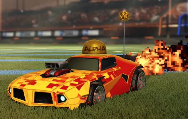 Watch and share Dominus GT, Alpha Hat, Beta Nugget, Crimson Lightning Wheels, Parallax Decal, Pixel Fire Trail GIFs on Gfycat