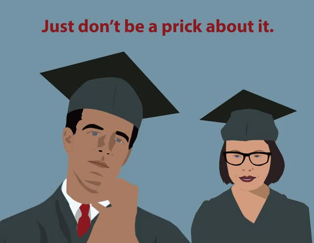 Watch and share Graduate-pricks GIFs by Joseph Alford on Gfycat