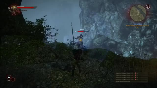 Watch and share Witcher 2 Gameplay - Aard Attack (reddit) GIFs on Gfycat