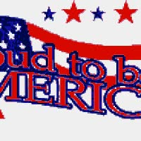 Watch and share Patriotic Proud To Be An American America Flag Stars July 4th Memorial Day Happy Emoticon Emoticons Animated Animation Animations Gif GIFs on Gfycat