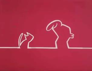 "Watch and share La Linea (""The Line"") By Osvaldo Cavandoli GIFs on Gfycat"