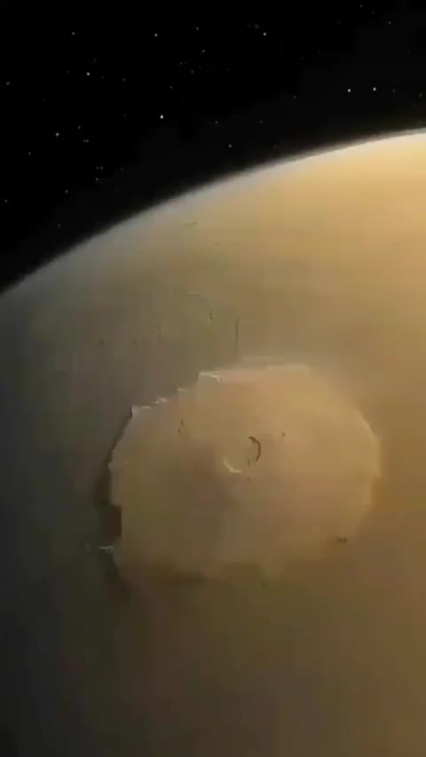 Watch and share The Biggest Mountain In The Solar System GIFs by potluck on Gfycat