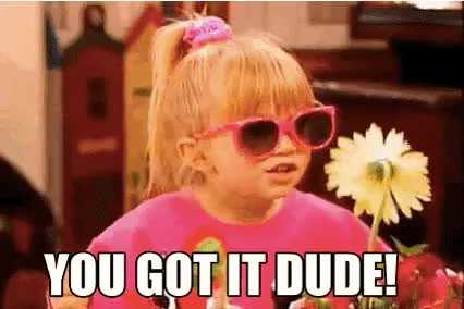 Watch and share Michelle Tanner Pink Sunglasses GIFs on Gfycat