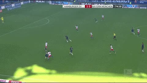 Watch and share Claudio Pizarro. Hamburg - Bayern Munich. 2013-14 GIFs by fatalali on Gfycat