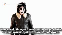 Watch never ever bloody anything ever GIF on Gfycat. Discover more *, *noel, *richard, 1k, andy murray, noel fielding, p: richard ayoade, p:noel fielding, richard ayoade, stand up to cancer GIFs on Gfycat