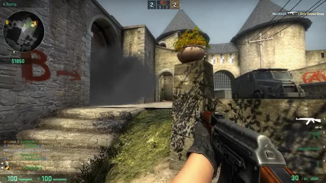 CSGO Abbey weird clipping GIF | Find, Make & Share Gfycat GIFs
