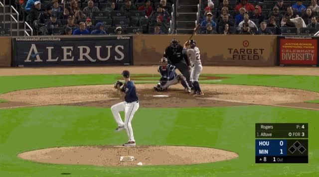 Watch and share Minnesota Twins GIFs and Houston Astros GIFs by natewattpl on Gfycat