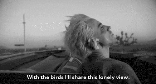 birds, black and white, gif, grunge, grungie, hiphop, hippie, hipster, indie, lonley, lyrics, quotes, red hot chili peppers, song, Red Hot Chili Peppers GIFs