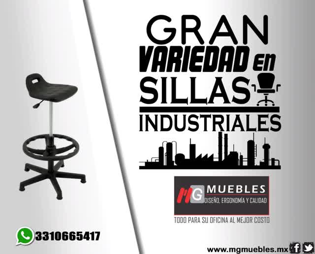 Watch and share Sillas Industriales GIFs on Gfycat