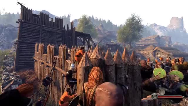Watch and share Mount & Blade II: Bannerlord Siege Defence Gameplay GIFs on Gfycat