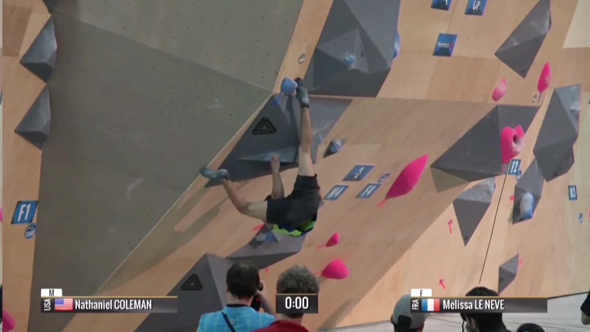 hard boulder moves 2015, international federation of sport climbing (organization), psyched bouldering, Nathaniel Coleman Bouldering World Cup 2015 GIFs