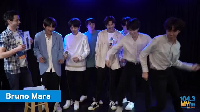 Watch BTS Talks Performing At The BBMA's, New Single 'Fake Love' + Sing American Pop Hits! GIF on Gfycat. Discover more 104, All Tags, adele, bbma, beyonce, bts, k-pop, myfm, pink GIFs on Gfycat