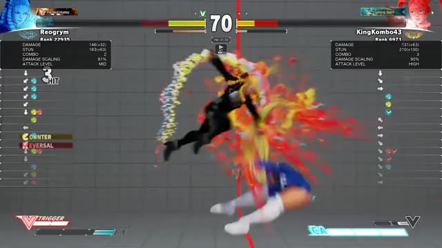 Watch and share Street Fighter V GIFs and Karin GIFs on Gfycat
