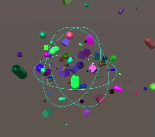 Watch and share Random Spawn Movement GIFs by Catlike Coding on Gfycat