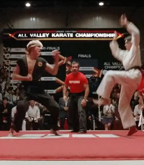 Watch and share Kid Karma Karate Kid GIFs on Gfycat