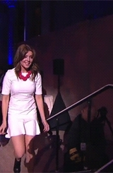 Grace helbig, gif, gracehelbig, it'sgrace, itsgrace, my edit, pete holmes, webby awards, webbys, What A Charming Idiot GIFs