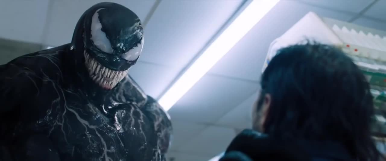 Music, Pennywise The Clown, eddie brock, music, pennywise the clown, tom hardy, venom, Venom (2018) - We Are Venom/Ending Scene GIFs