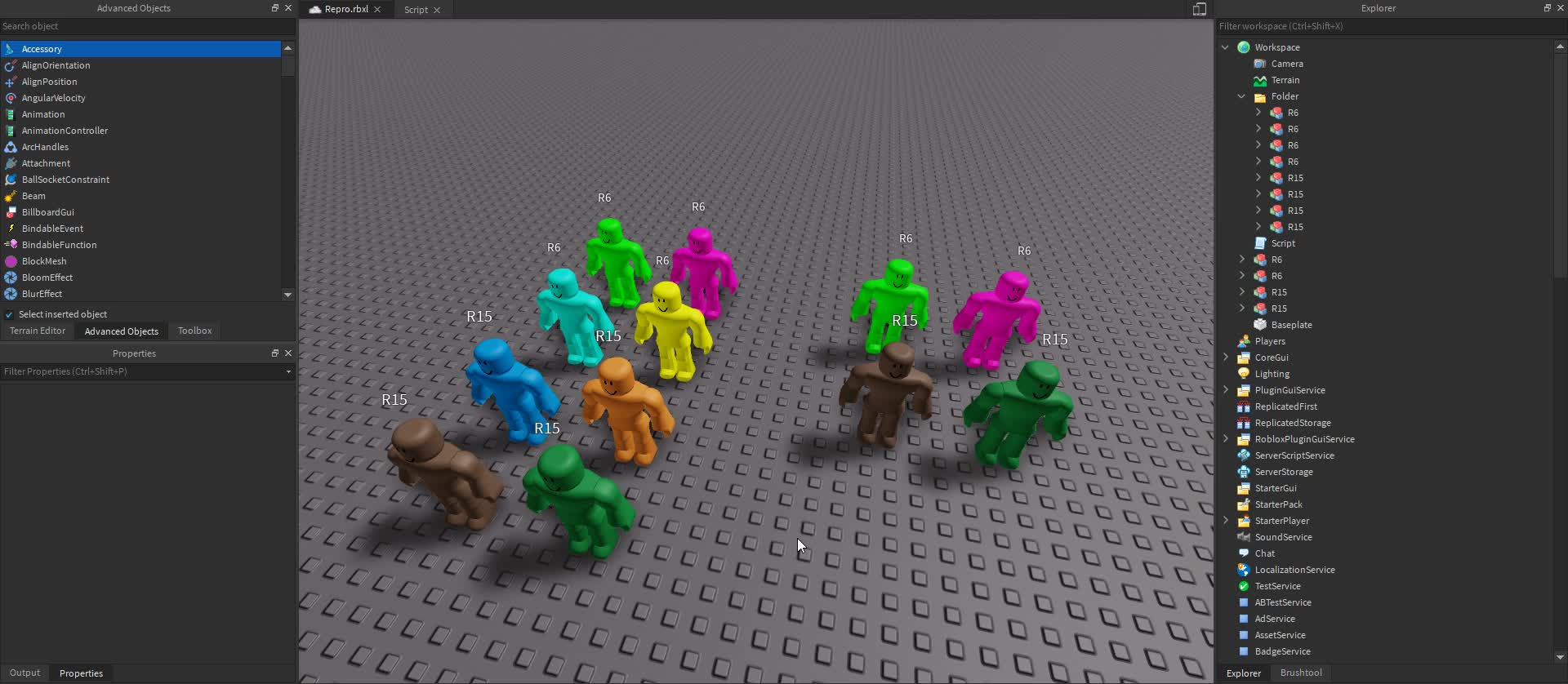 Coroutine Or Lerp Causing Texture And Color Swapping On Humanoids
