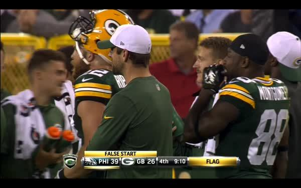 greenbaypackers, One of the highlights yesterday: Rodgers tickling Sitton (reddit) GIFs