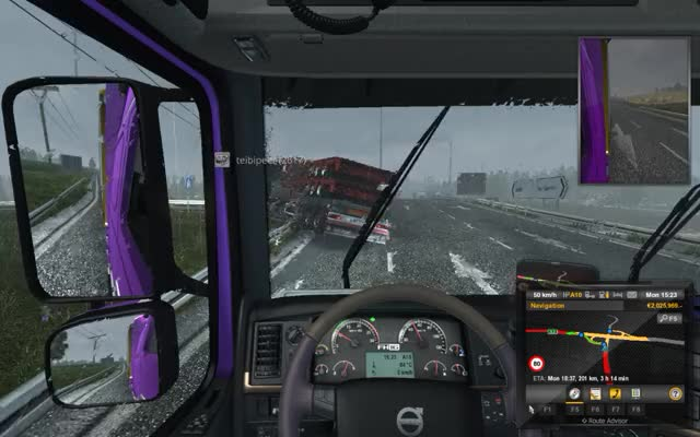 Euro Truck Simulator 2 Fighter Jets In Finland GIF by