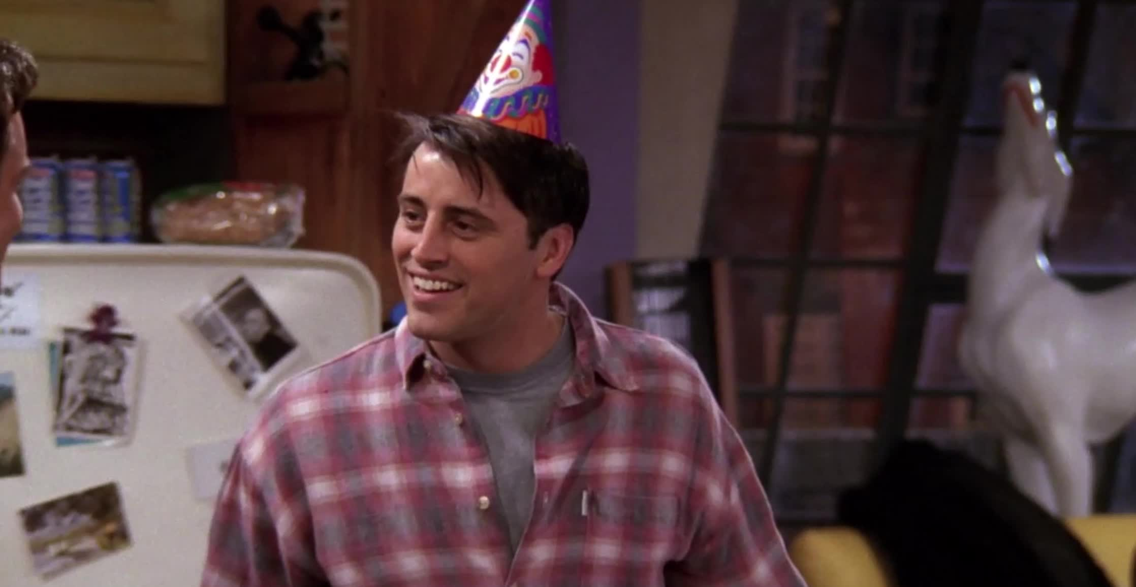 Matt Leblanc, confused, friends, joey tribiani, Now that's a thinker GIFs