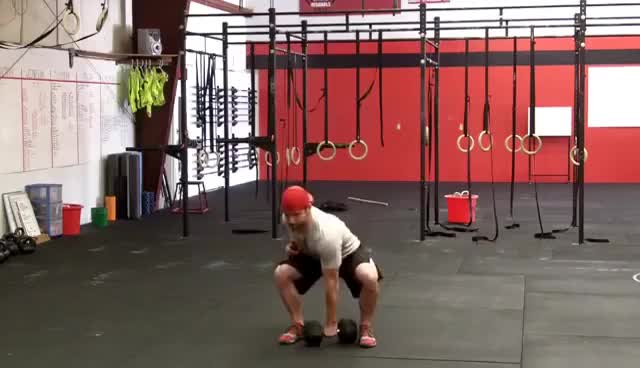 Watch CrossFit Dumbbell Snatch - Northstate CrossFit GIF on Gfycat. Discover more related GIFs on Gfycat