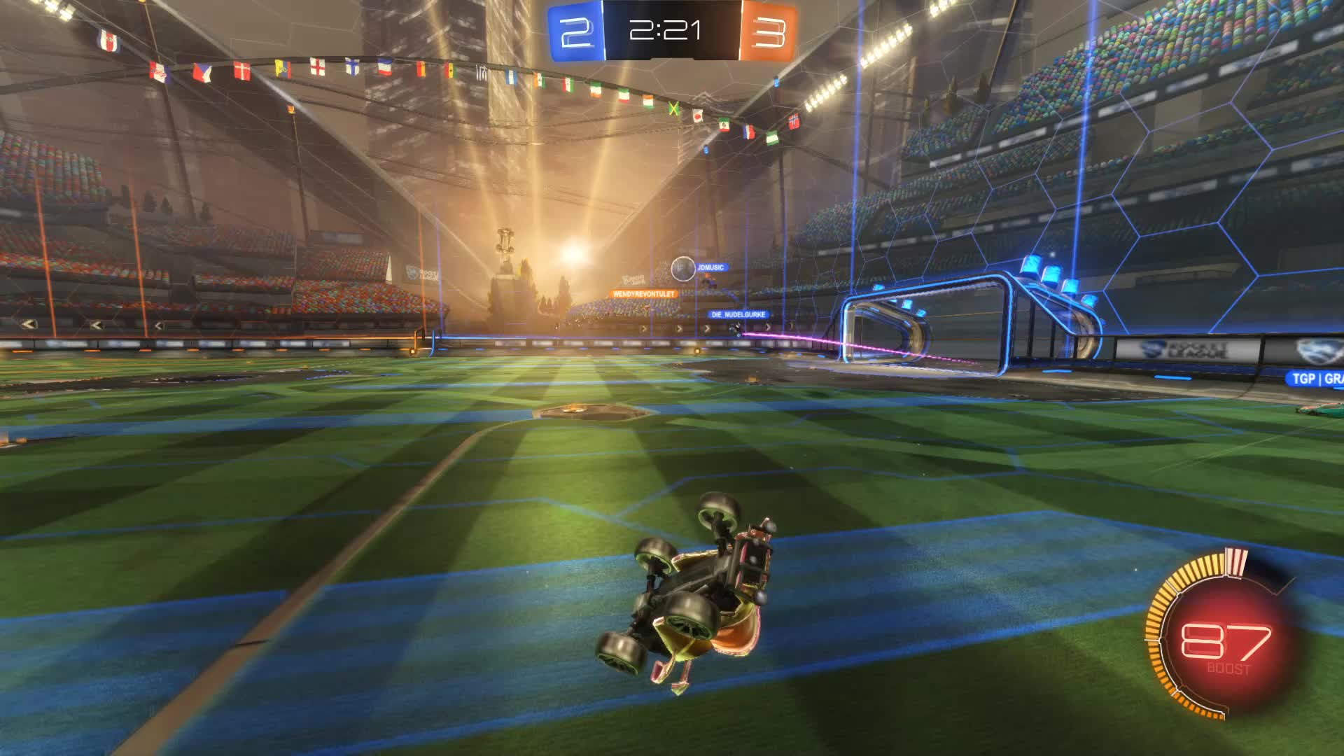 Gif Your Game, GifYourGame, Goal, Rocket League, RocketLeague, SCOTLAND FOREVER, Goal 6: SCOTLAND FOREVER GIFs