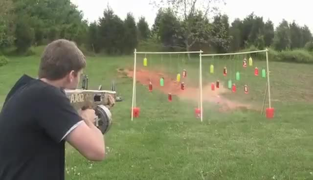 Watch AA-12 Fully Automatic Shotgun!! GIF on Gfycat. Discover more related GIFs on Gfycat