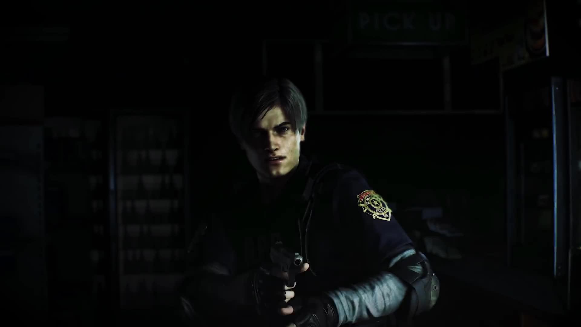Leon Resident Evil 2 Remake Gif By Yuchimi Gfycat