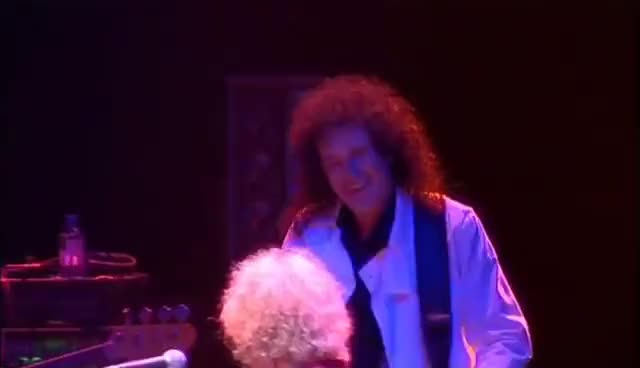 Watch and share Brian May GIFs on Gfycat