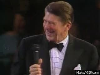 Watch and share Reagan Laughing GIFs on Gfycat