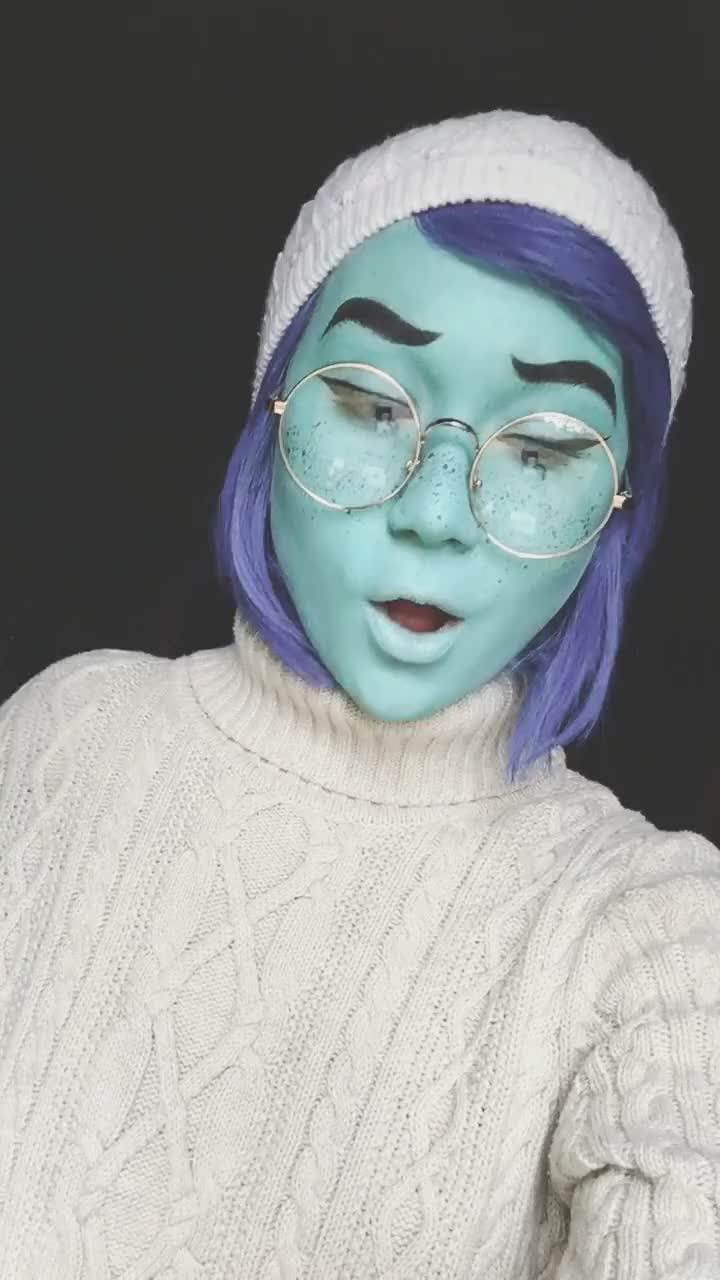 cosplay, cosplayremoval, makeupremoval, makeuptakeoff, 💙💙💙| #cosplayremoval #makeuptakeoff #makeupremoval #cosplay #cosplayer #sadness #insideout GIFs