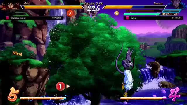 Watch and share DRAGON BALL FIGHTERZ (584) GIFs by bahptist on Gfycat
