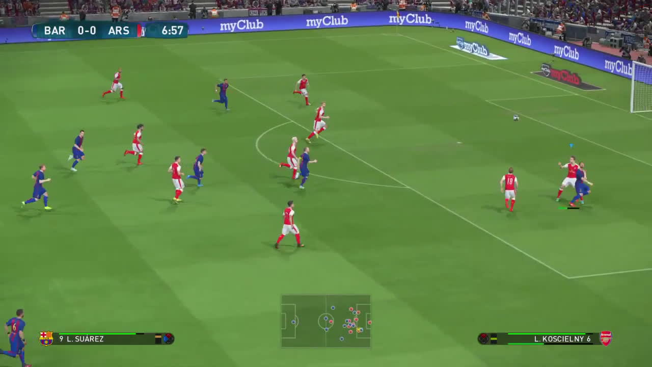 ps4share, sony interactive entertainment, wepes, Alex Sanchez wonder run - PES 2017 GIFs