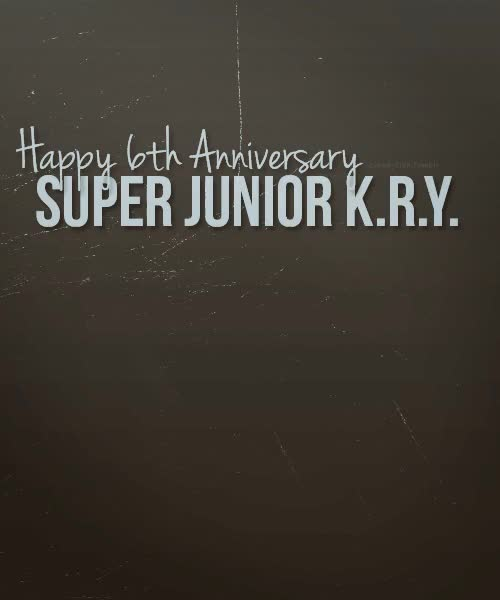 Watch and share Super Junior Kry GIFs and 6th Anniversary GIFs on Gfycat