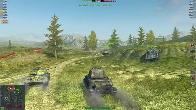 Watch and share World Of Tanks Blitz 2019.10.05 - 11.32.39.11.DVR GIFs by fodnjs0811 on Gfycat