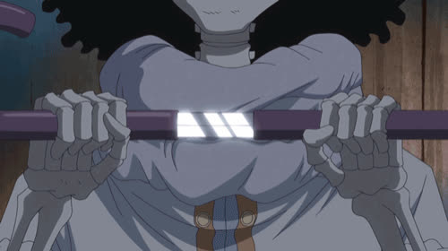 Anime, Brook, One Piece, Soul King, OnePiece Ep813 HD GIF-v1 GIFs