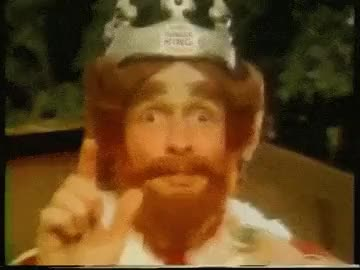 Watch Respect the Burger King : respectthreads GIF on Gfycat. Discover more related GIFs on Gfycat