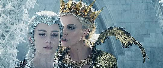 The Huntsman: Winter's War Fan Art: Emily Blunt is The Ice Queen