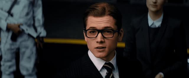 Watch this trending GIF by The GIF Smith (@sannahparker) on Gfycat. Discover more Taron Egerton, the kingsman, wink GIFs on Gfycat