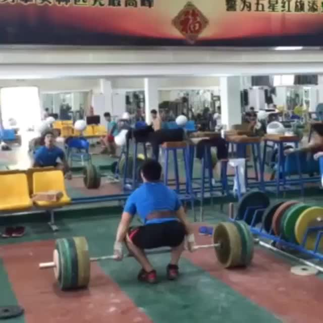 Watch unknown athlete Ma Str camp 170kg CJ GIF by @ct600cc on Gfycat. Discover more related GIFs on Gfycat