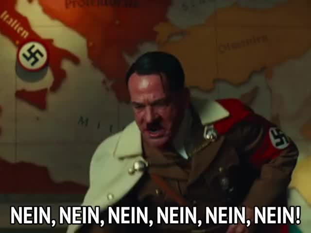 Watch this inglourious basterds GIF by MikeyMo (@mikeymo) on Gfycat. Discover more angry, furious, hitler, inglourious basterds, nein, no, no no no GIFs on Gfycat