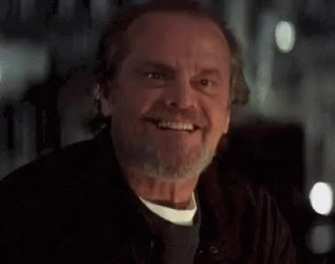 Watch and share Jack Nicholson GIFs and Celebs GIFs on Gfycat