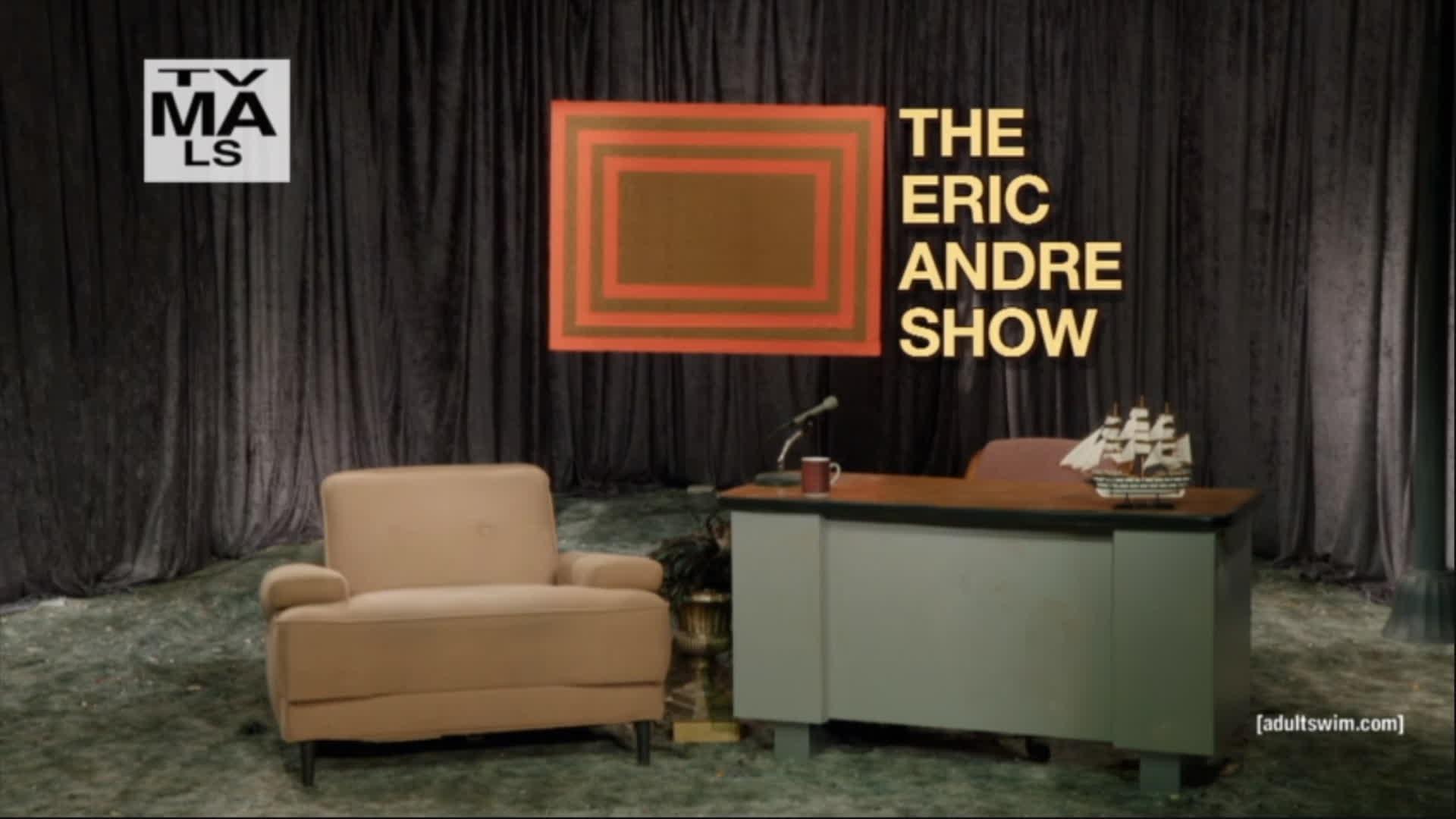 TheEricAndreShow, Warp, Eric Andre can warp GIFs