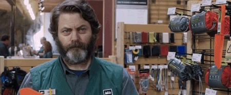 exactly, nick offerman,  GIFs