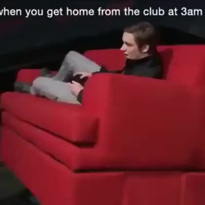 Watch When you get home from the club at 3am GIF on Gfycat. Discover more funny, gif, ripfunny GIFs on Gfycat
