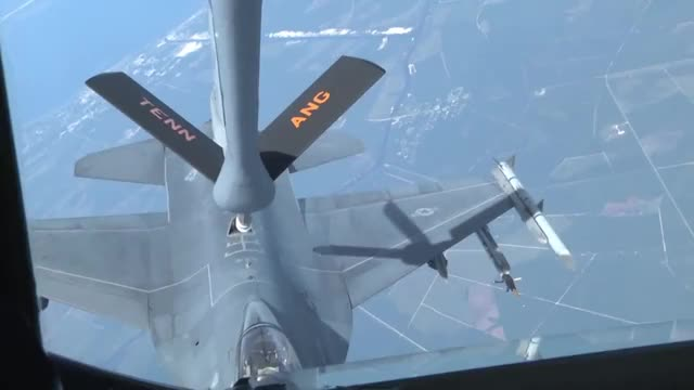 Watch F-16 aerial refueling GIF by wholeein on Gfycat. Discover more militarygfys GIFs on Gfycat