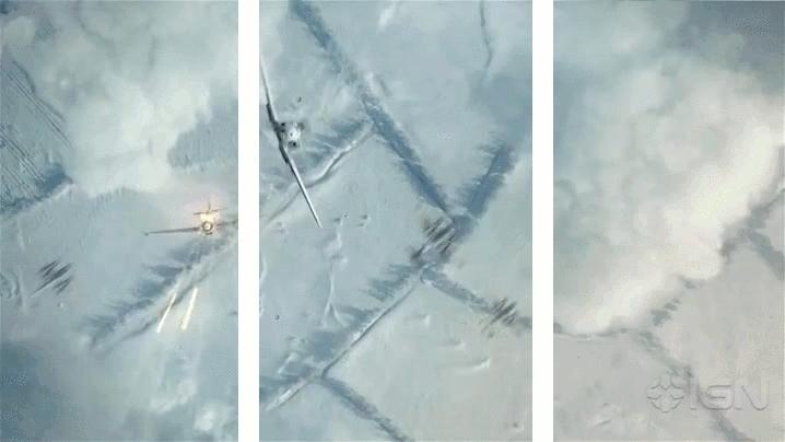SplitDepthGIFS, airplanes, split depth gif, Bf 109 Split depth gif GIFs