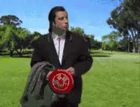 Watch frisbee GIF on Gfycat. Discover more related GIFs on Gfycat