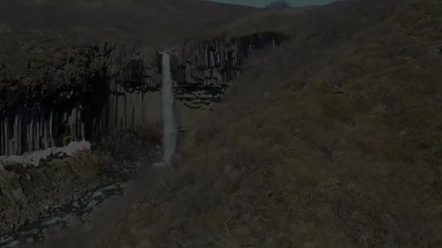 Watch and share Flight @ Svartifoss National Park Skaftafell  - Iceland GIFs by solateor on Gfycat